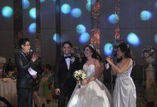 Wedding of Kristalia & Ekles by Hansen Zhang