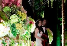 Wedding OF Eka & Novilia by Best Decor