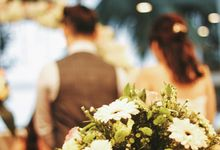 Garden wedding day by Amelia Soo photography