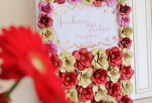 Joshua & Lilin Engagement by M.D.P ( Mazzel Decoration Project )