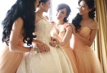 Ardion & Vania wedding by GV by Gabriella Vania