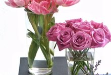 Flower Arrangement Vases by Les Fleur Flower Design