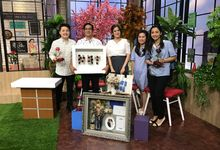 NET TV Pagi pagi Morning Show by Magnolia Dried Flower