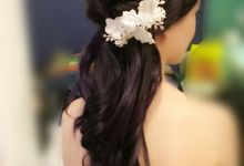 Bride Wenling Actual Day by Makeupwifstyle