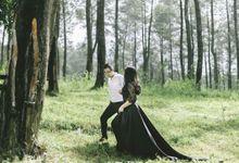 Nadia classy prewedding by Francesca Couture