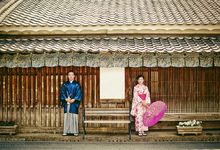 Pre wedding in Japan by ES Creation Photography