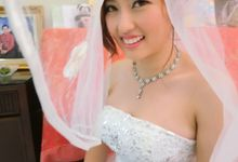 Bride Actual Day by Suz Make Up & Hairdo