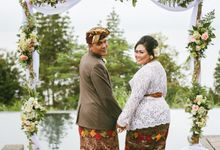 The Wedding of Theo & Eka by Moslem Wedding Organizer