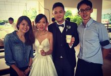 Church Wedding Reception by Kafve Coffee
