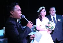 The Wedding of Rony van Houdt & Fely Maryani by Yosua MC