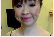 Mono Eyelids Before & After by Stephy Ng Makeup and Hair