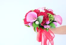 Spring Garden Bridal Bouquet by Il Fiore