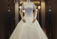 Wedding gown for rent (ready stock/ custom made) by Eva Kharisma Bridal & Couture