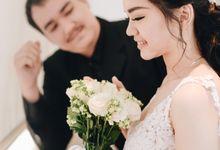 Ivana Prewedding Bouquet by Hana Flower Story