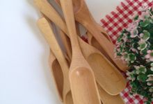 Wooden Multipurpose Scoop by La Dame in Wood