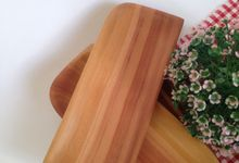 Wooden Wajik Plate Tray by La Dame in Wood