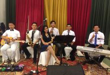 Fitri & Fakhrul Wedding by 1548 band