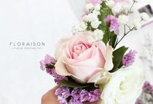 corsages by Floraison