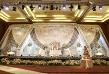 Bill & Sharleen Wedding by Trinity Decoration by Pullman Jakarta Central Park