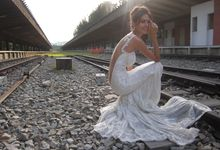 Styled Shoot at KTM Tanjong Pagar Railway Station by The Proposal