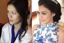 #Makeupstory of Makeupstory of Christina Tjhin by Linda Make Up Studio