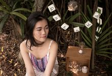 Whimsical Bridal Shoot by Lillian Louie Makeup
