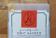Eric Kayser Grand Opening Invitation by The Paperie