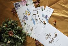 Aditya & Angelina Wedding Invitation by Paperstory