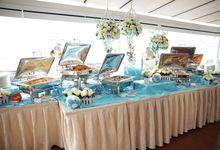 Grand Food Tasting III by OC Weddings