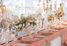Blushing Intimate Wedding by Precious Event Design