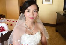 Bridal Gown & Makeover Pkg for Bride Denise by Makeupwifstyle