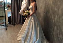 Ms Cheryl wedding photoshoot by Rebecca WU