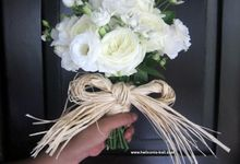 WEDDING BOUQUET by HELICONIA  Bali