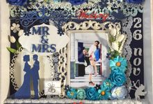 Wedding Premium Scrapframe by DFLcraft
