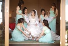 Thomas & Evy Wedding by Lademoiselle Bridesmaids