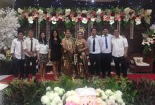 Asty & Marcell Wedding by 1548 band