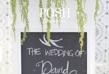 Wedding of David & Vita by POSH DECORATION