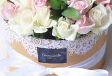 Flower Box by Benangsari Flower Studio