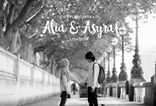 Couple Portraiture of Alia & Asyraf by The Lucid Company