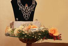 "A bespoke wedding presents or ""seserahan"" by The Glint & Glaze"