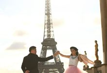 Iceland & Paris Prewedding by GV by Gabriella Vania