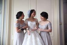 The Wedding of Eka & Naida by Krinoline