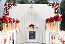 Wedding of Romy & Catherine by POSH DECORATION