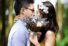 Pre-wedding of HindraMeldi by Jasmine Florist
