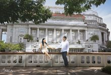 prewedding photo at Singapore by Djowney Lincoln