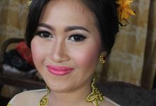 Balinesse wedding makeup for Gung Nery by Makeup by Heny