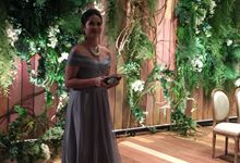 The Wedding Reception of Valiant & Lilian by Sari Nila