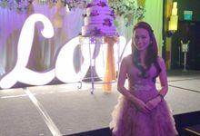 Wedding of Jerome & Geraldine by Bi-lingual Female Emcee Sharlyn Lim