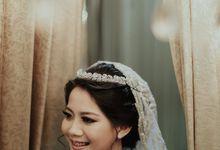 Surabaya Wedding Le Ballroom Outdoor - Brian Nesya (preparation) by Hexa Images