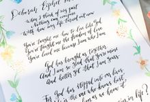 Because God has created Us by Meilifluous Calligraphy & Design